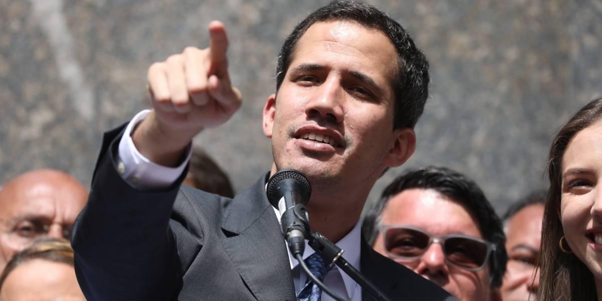 """Juan Guaidó aceptaría diálogo si sale """"el usurpador"""" y hay elecciones """"libres"""""""