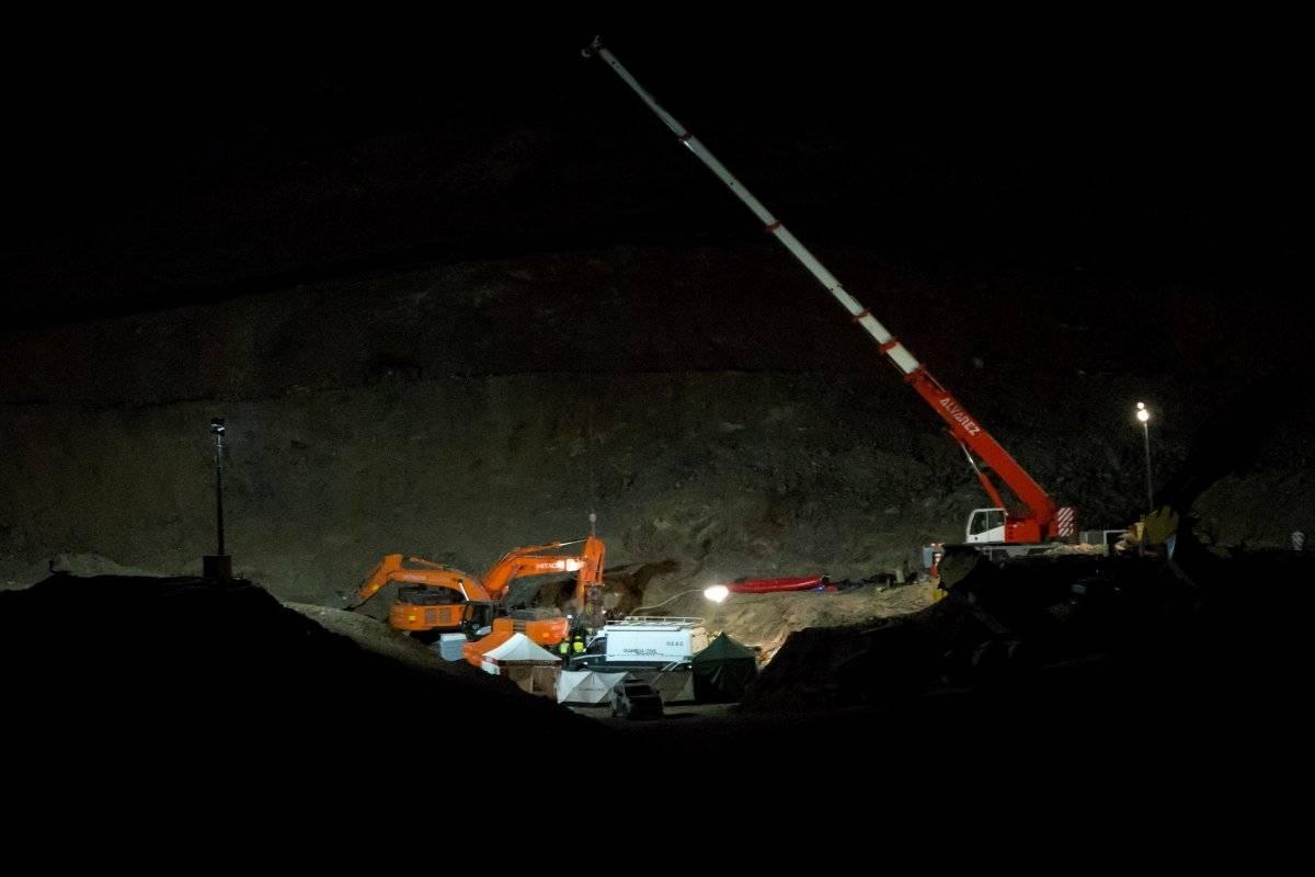 Localizado el cuerpo sin vida de Julen, el niño que cayó a un pozo en España