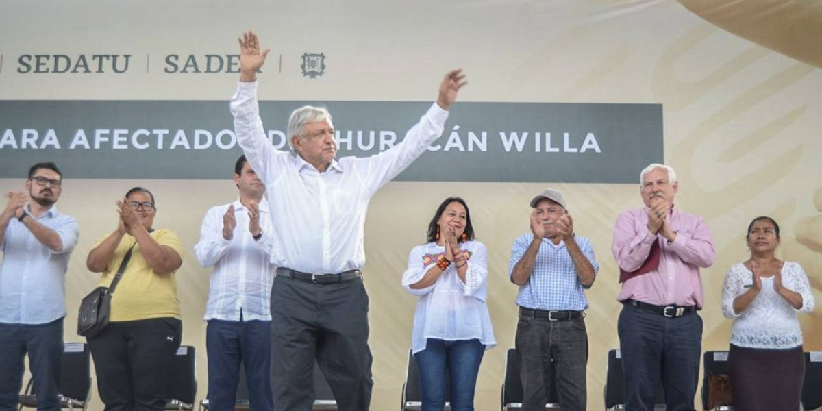 Programa de vivienda para damnificados por Willa inicia en febrero: AMLO