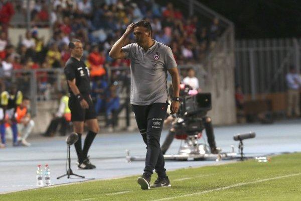 Héctor Robles suma un nuevo fracaso con una selección chilena sub 20. / Photosport