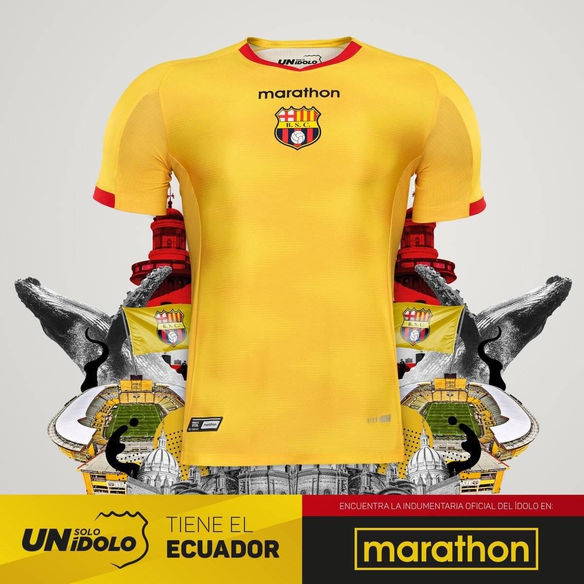 Camiseta Barcelona SC 2019
