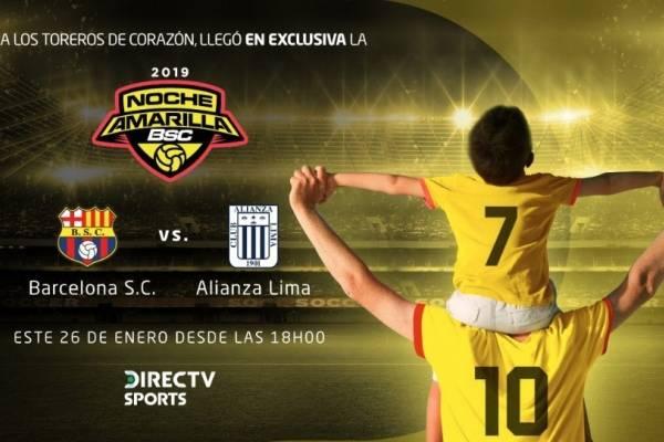 Noche Amarilla: Barcelona SC vs Alianza Lima. En vivo, donde ver el partido, hora y alienaciones