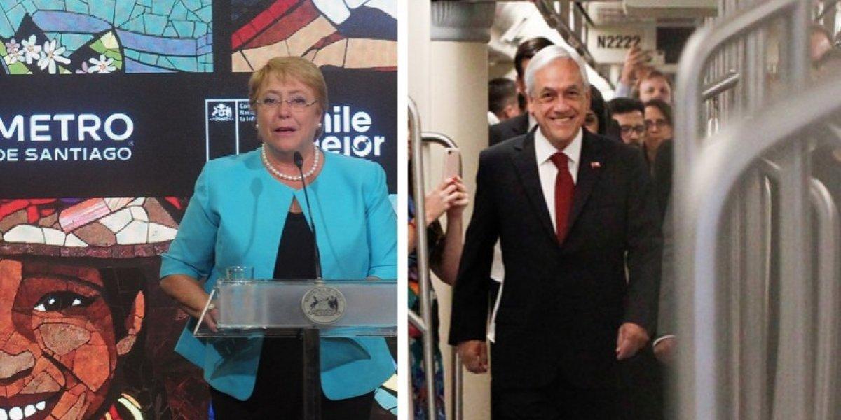 Transantiago: Bachelet aumentó tarifas en $80 en todo su período y Piñera ya va en $40
