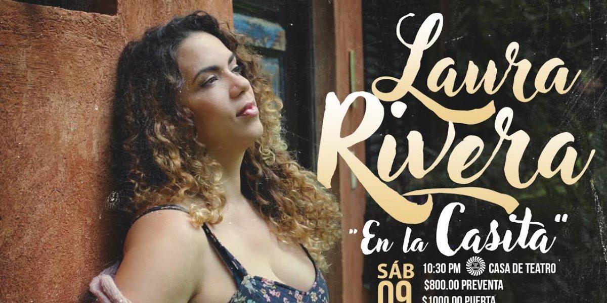 """Laura Rivera realizará su concierto """"En la casita"""" el sábado 9 de febrero"""