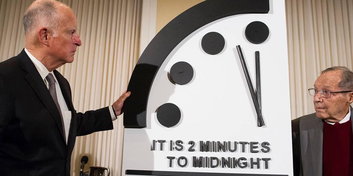 Actualizaron el Reloj del Apocalipsis y ahora estamos a dos minutos del fin del mundo