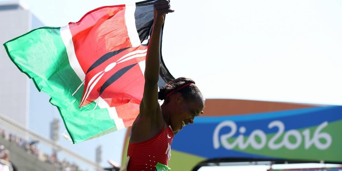 Suspenden ocho años a maratonista que ganó oro en Río 2016