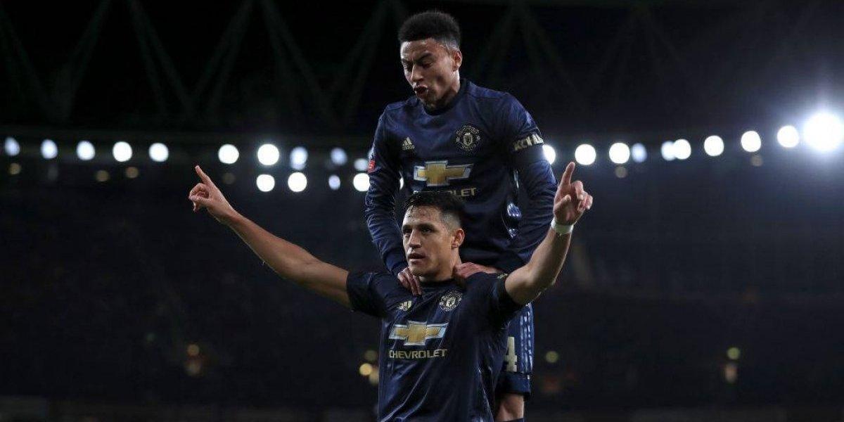 Alexis volvió al Emirates con tremendos abucheos y calló bocas reencontrándose con el gol en el United