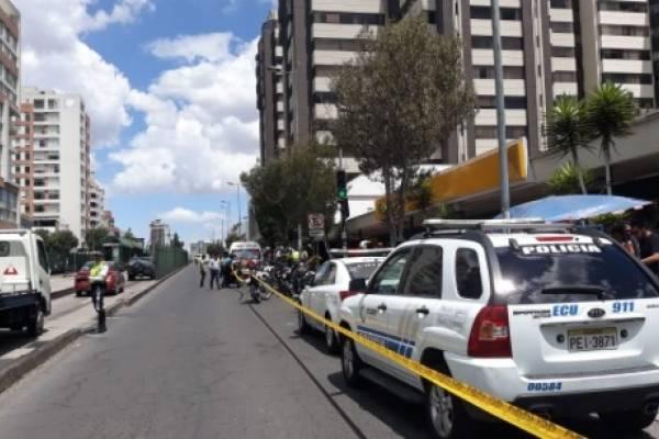 Hombre falleció al ser asaltado en el norte de Quito