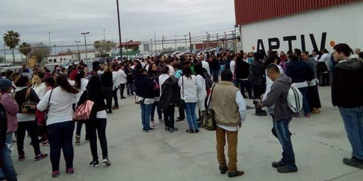 Estalla huelga en Matamoros; 70 mil trabajadores paran labores