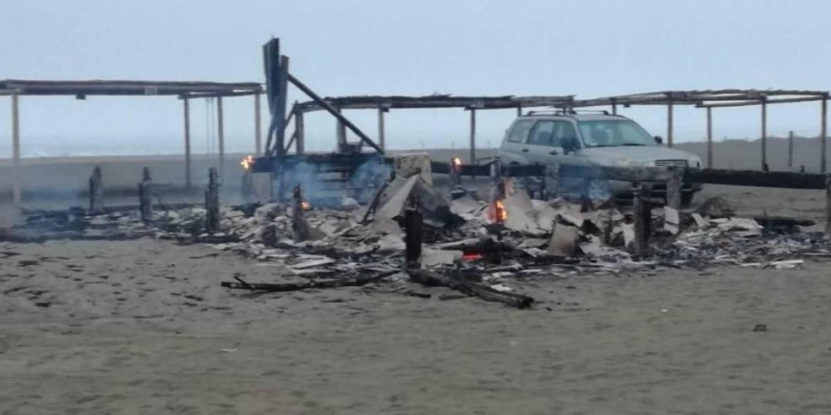 VIDEO: Encuentran quemado el cuerpo de copiloto que participó en Rally Dakar