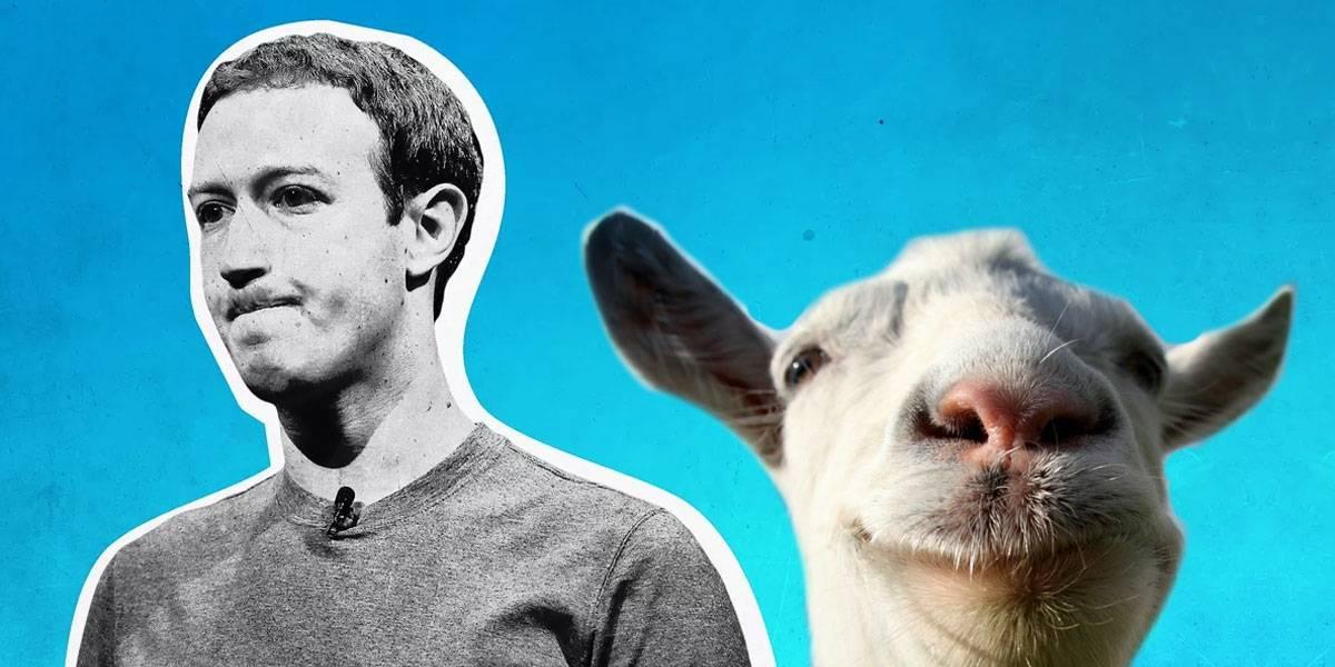 Mark Zuckerberg mató una cabra con un láser y se la comió, según el CEO de Twitter