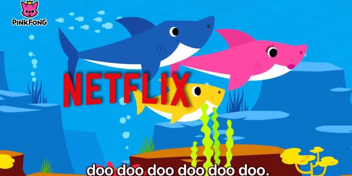 Netflix prepara adaptación de la canción para niños Baby Shark para el 2019