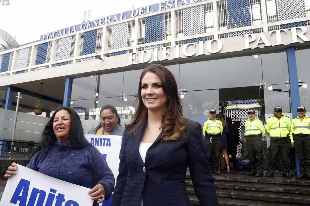 Ana Galarza no será destituida por la acusación de 'diezmos