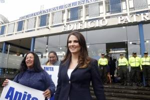 Ana Galarza no será destituida por la acusación de 'diezmos'