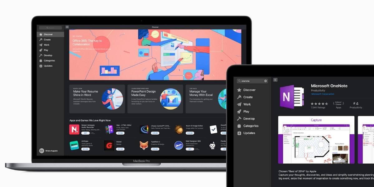 La Mac App Store le abre la puerta a Office 365