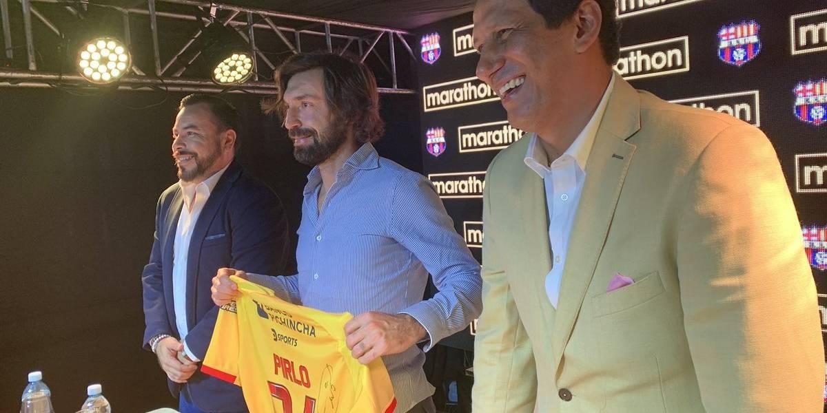 """Andrea Pirlo: """"Me siento contento de participar en la Noche Amarilla"""""""