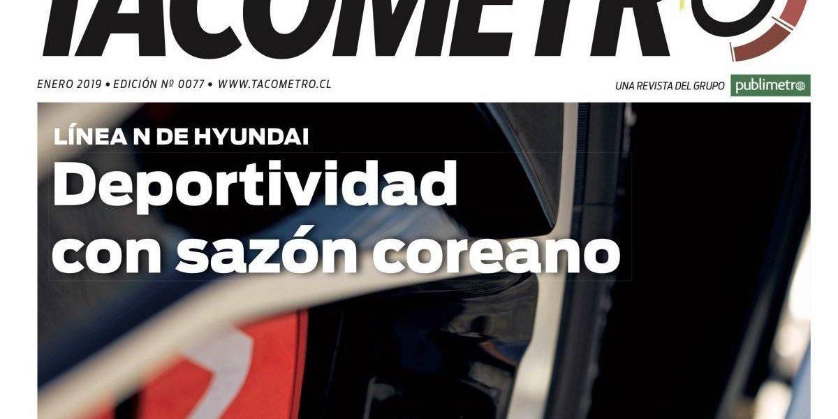 La revista Tacómetro de enero es mezcla de velocidad y energía