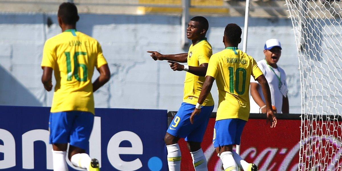 Brasil ganó con lo justo a una luchadora Bolivia y clasificó al hexagonal final del Sudamericano Sub 20