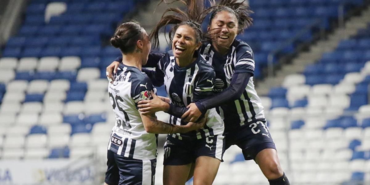 Se prende el Clásico femenil con victoria de Rayadas