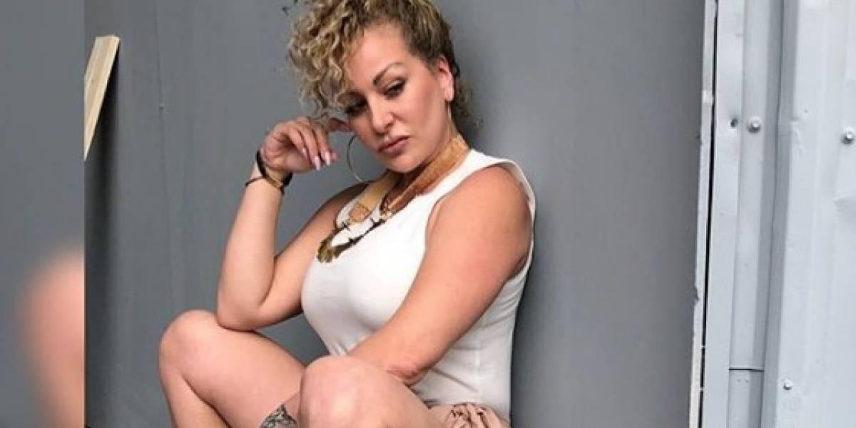 """Angelique """"La Burbu"""" se estrena como cantante"""