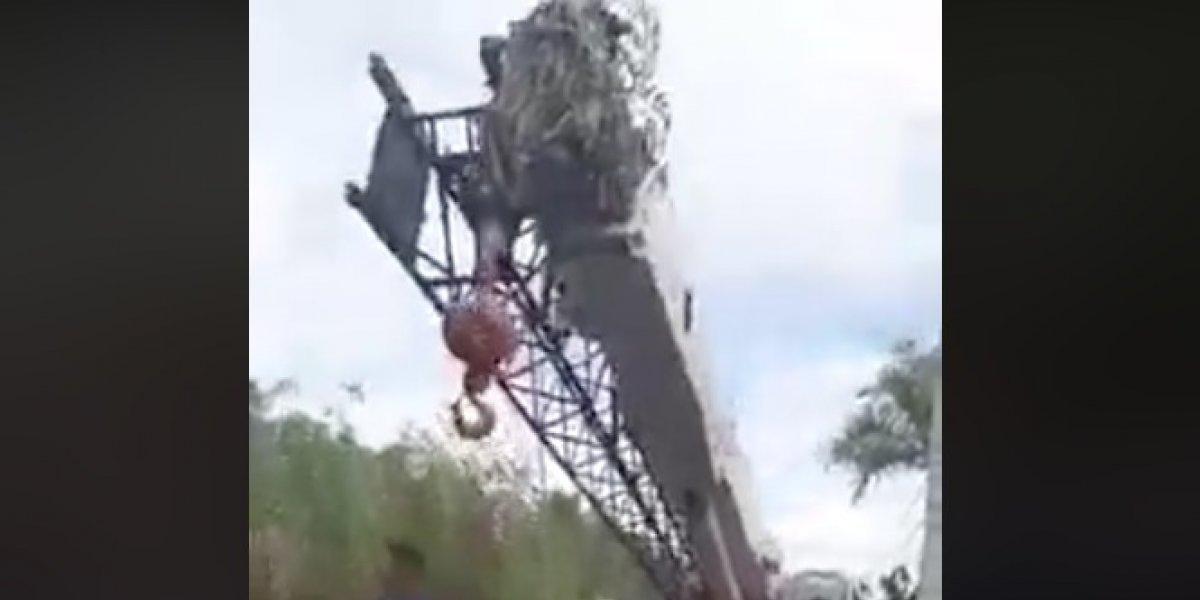 Arrestan manifestantes en contra de construcción de antena