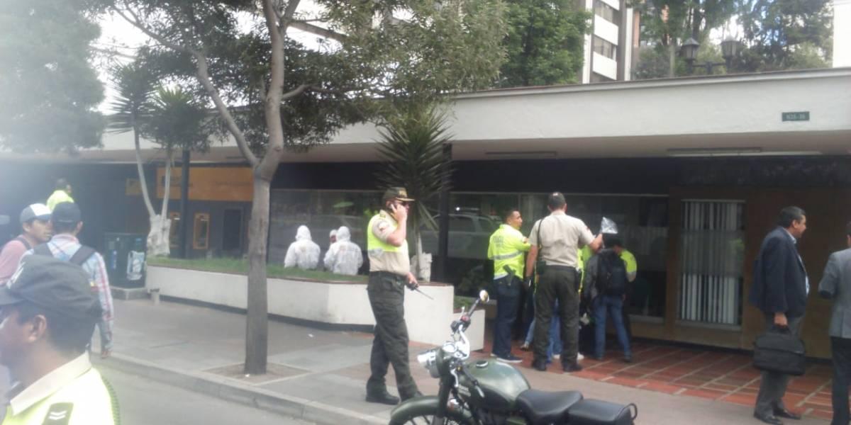 La víctima del asalto en la 6 de diciembre y Portugal se trata de esposo de la asambleísta Rina Campain