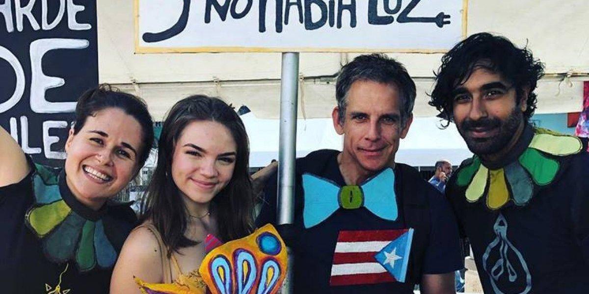 De visita en Puerto Rico el actor Ben Stiller