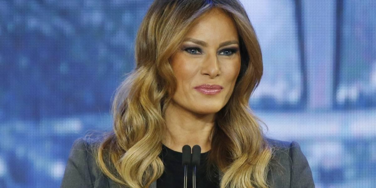 "Periódico se disculpa con Melania Trump por difundir ""Fake News"""