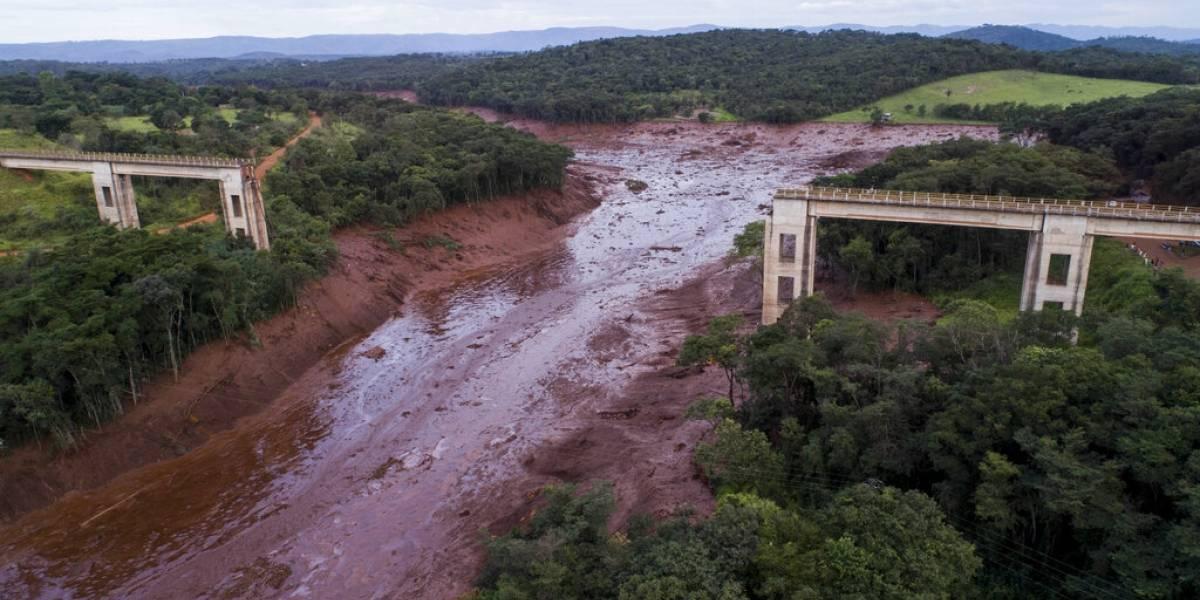 Una represa en Brasil podría colapsar en cualquier momento