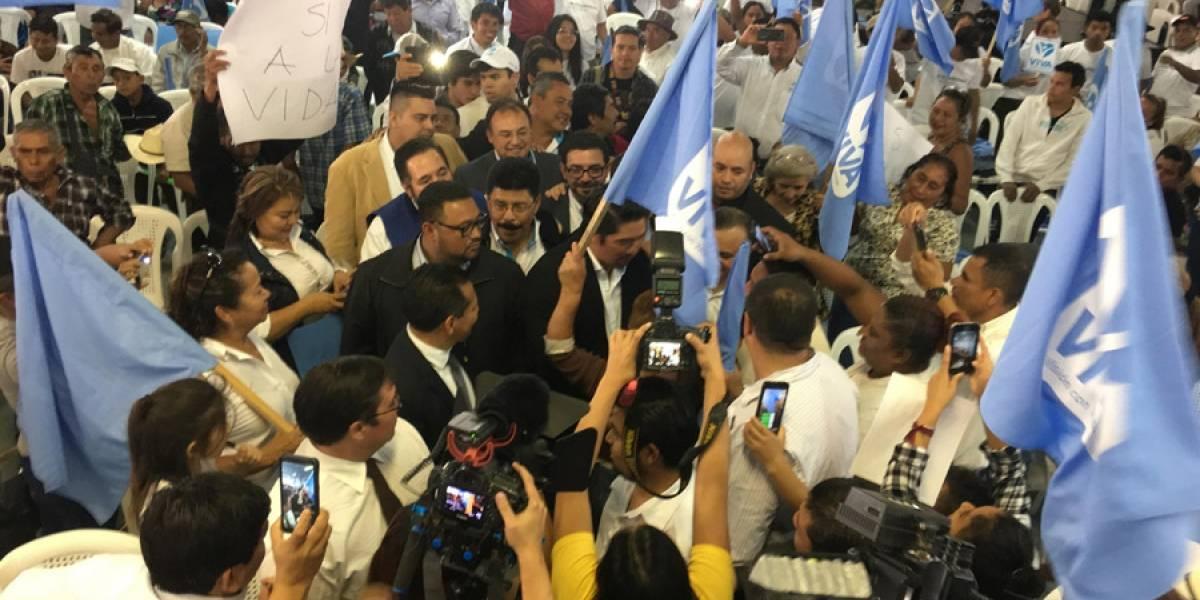 Partido Viva proclamó a su binomio presidencial durante su Asamblea