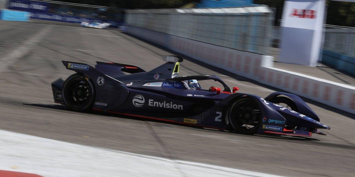 Fórmula E: Sam Bird voló en el calor del e-Prix de Santiago