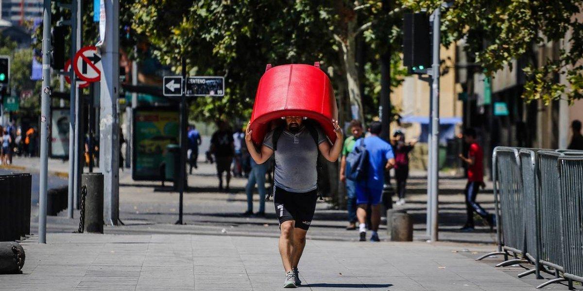 Insólito: Pudahuel llegó a 39,3ºC y se establece nuevo récord de calor en la Región Metropolitana