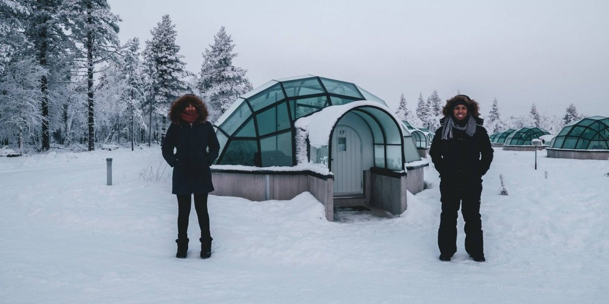 El sueño de dormir en un iglú en Finlandia