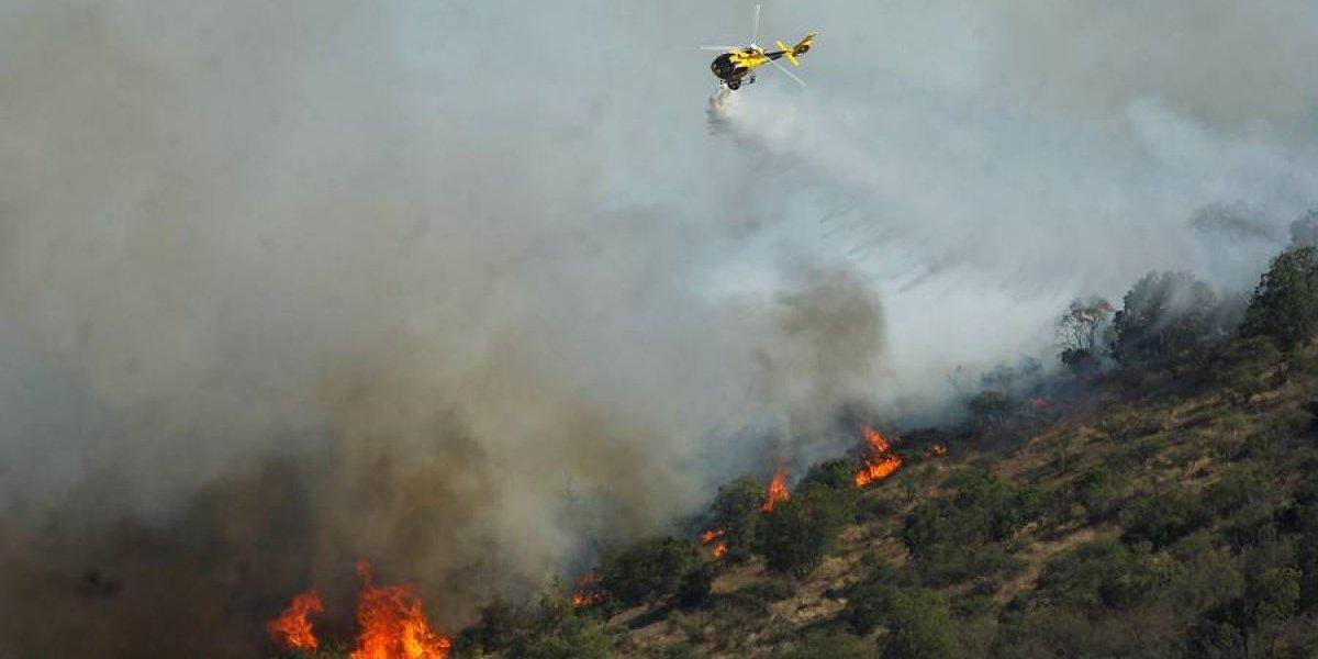 Altas temperaturas, viento y poca humedad hasta el lunes: declaran alerta temprana preventiva para cuatro regiones por amenaza de incendios