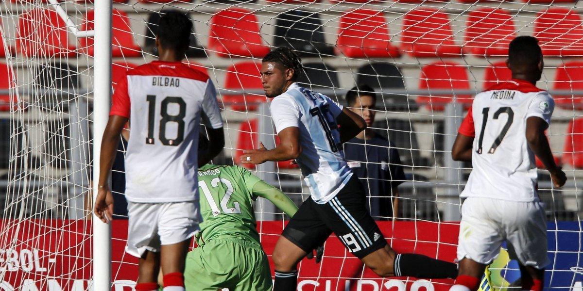 Argentina cumplió con lo justo para clasificar al hexagonal final del Sudamericano Sub 20