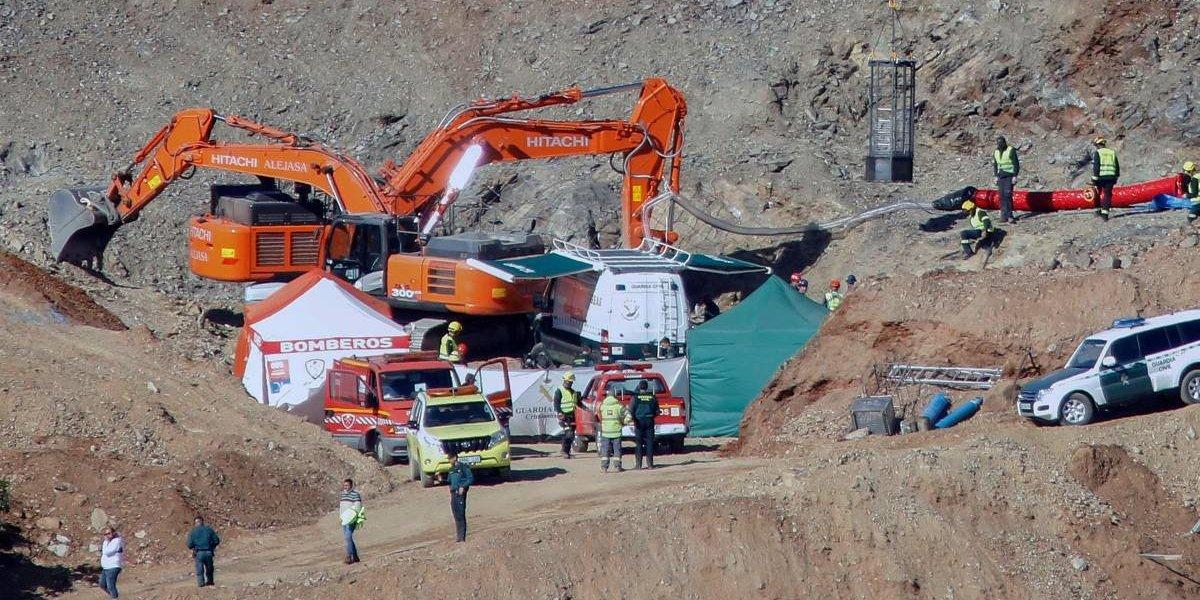 Entregan detalles del rescate de Julen, el niño que cayó y murió en un pozo en España
