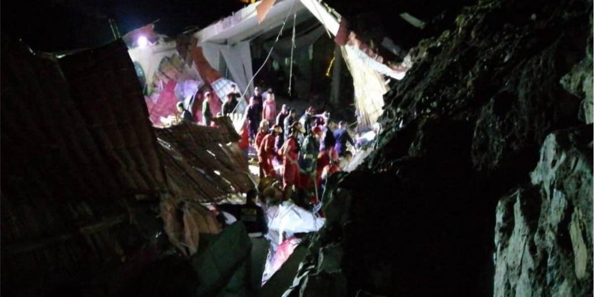 Terrible tragedia en Perú: 16 muertos tras colapso de pared durante un matrimonio