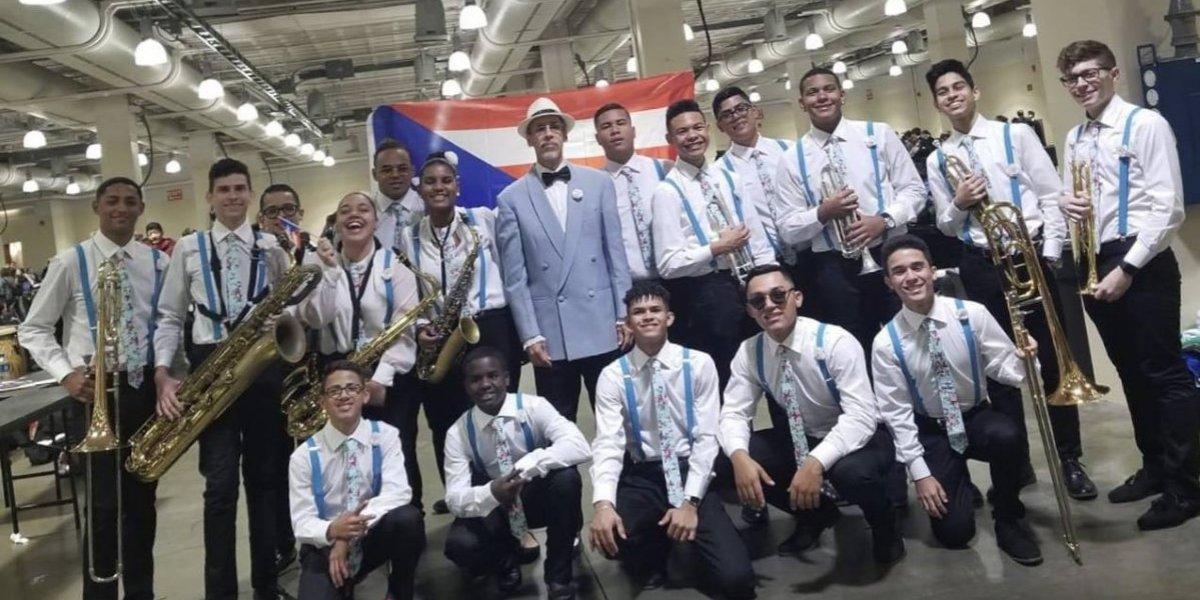 Alumno puertorriqueño se destaca como el mejor en competencia de música