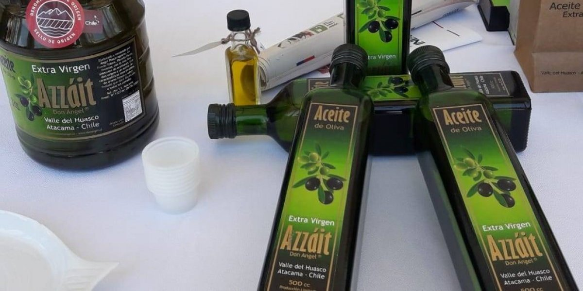 Otro producto nacional que es único: aceite de oliva del Valle del Huasco obtiene la denominación de origen