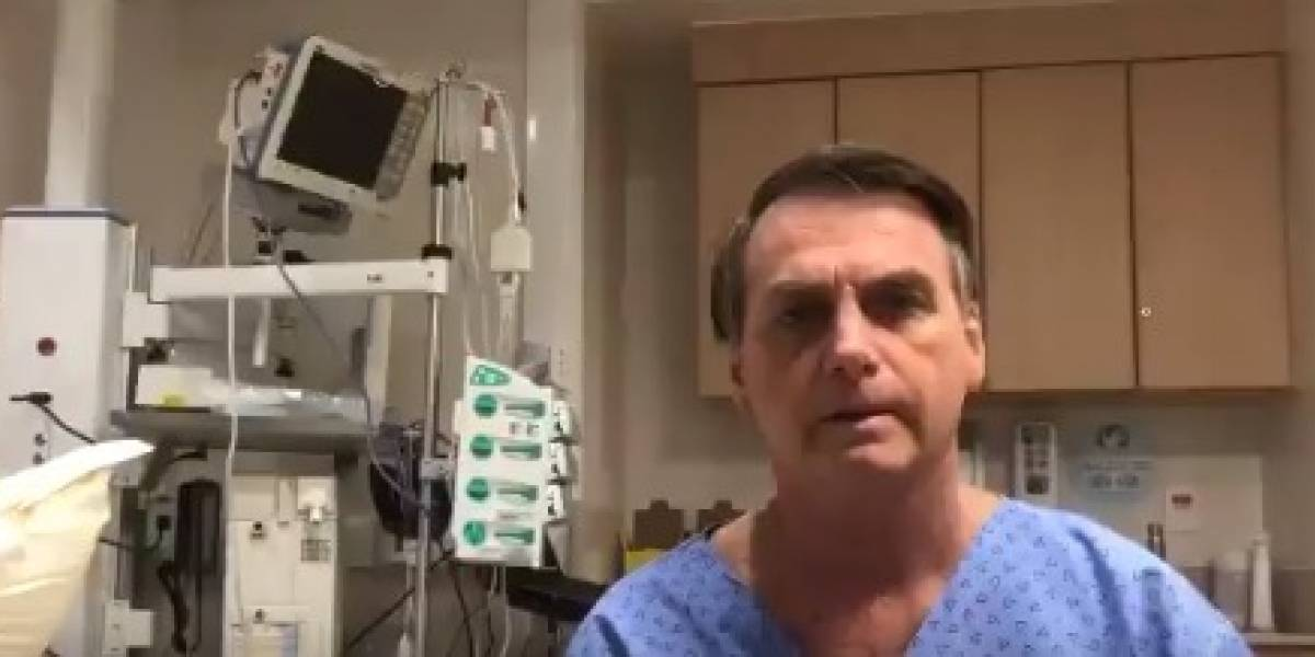 Bolsonaro está com pneumonia, diz hospital