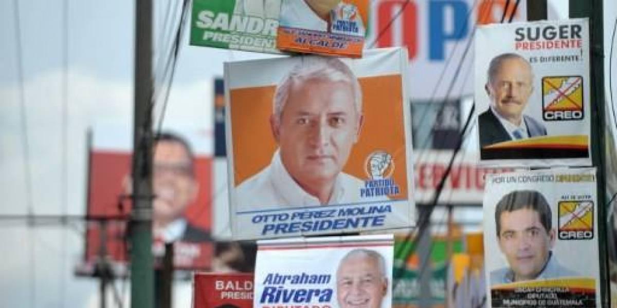 Partidos tendrán ocho vallas para publicitar a candidatos, ya no serán 12