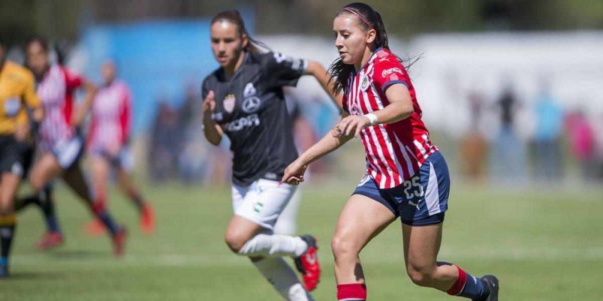 Chivas femenil pone fin a racha de tres partidos sin ganar