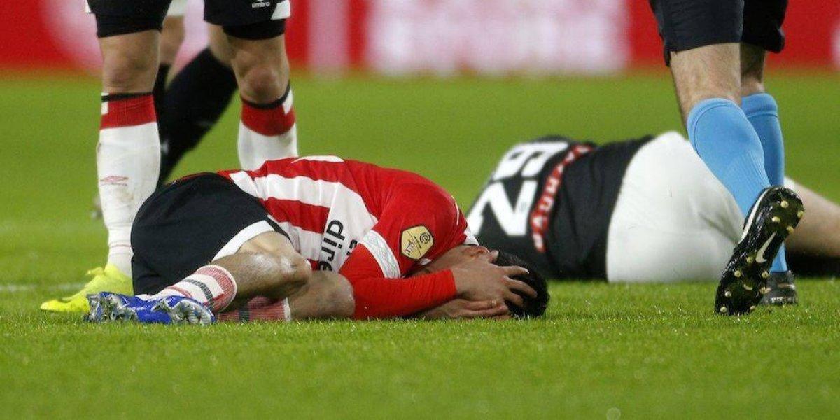 'Chucky' Lozano está fuera de peligro y fue dado de alta tras fuerte golpe en la cabeza