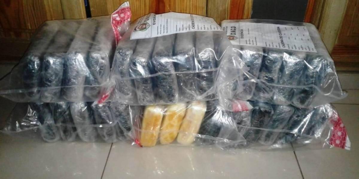 La DNCD decomisa 28 paquetes de cocaína en Puerto Multimodal Caucedo