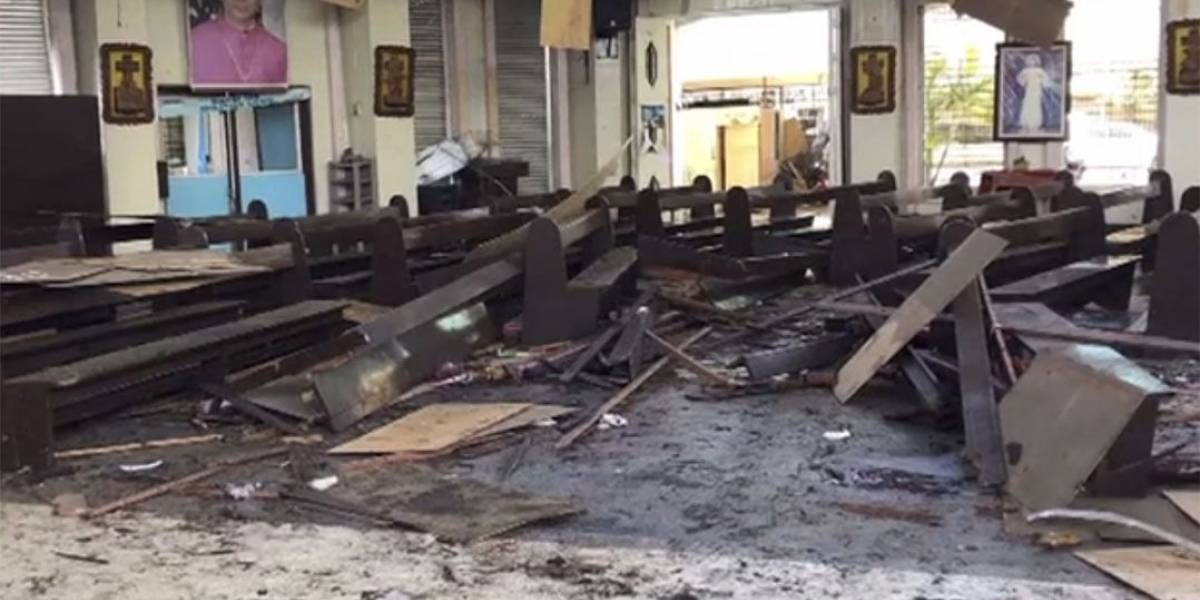 Explosões em catedral matam 19 e deixam 48 feridos nas Filipinas