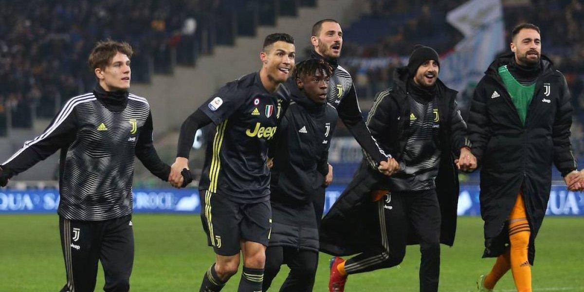 Cristiano Ronaldo da el triunfo a la Juventus con un penal
