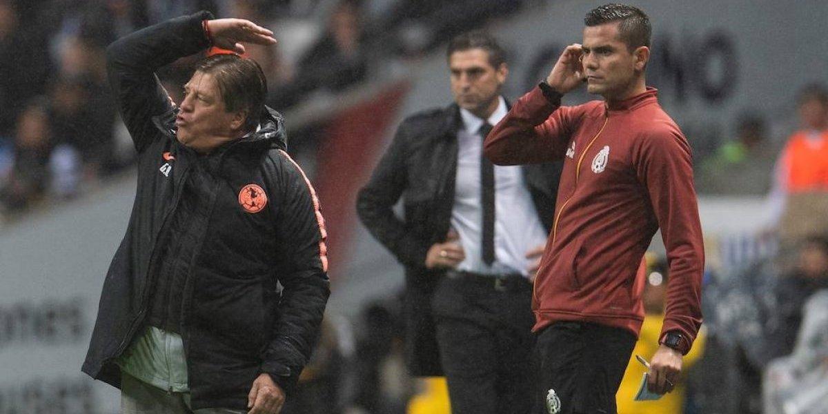 Miguel Herrera explota y le pide a Ramos Rizo no decir estupideces ni malinformar