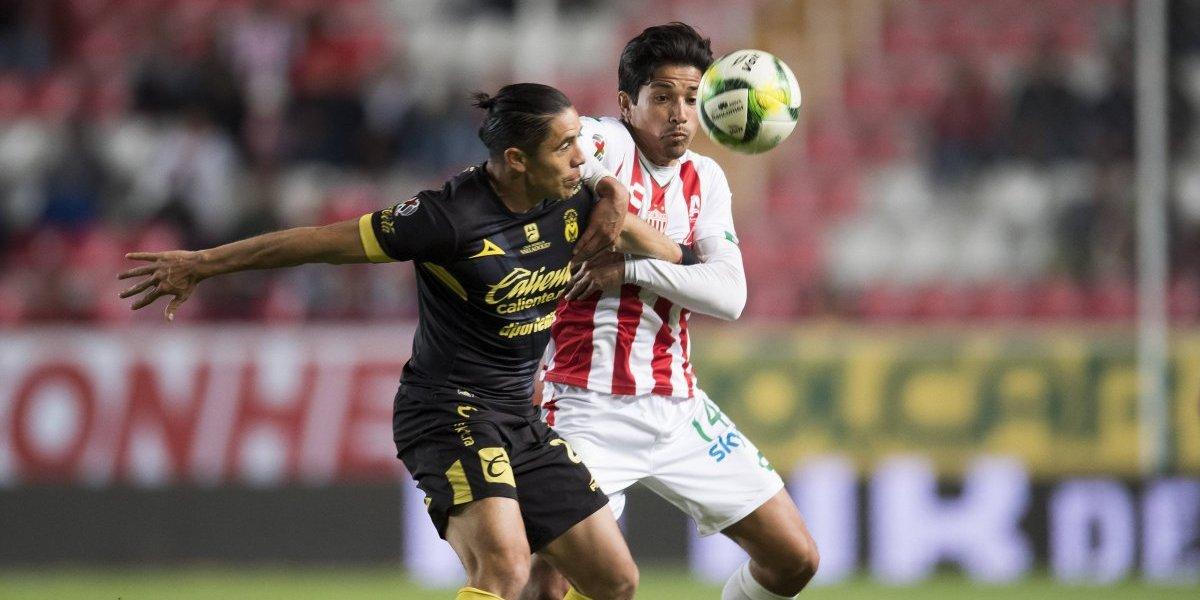 Necaxa y Morelia se olvidaron de los goles