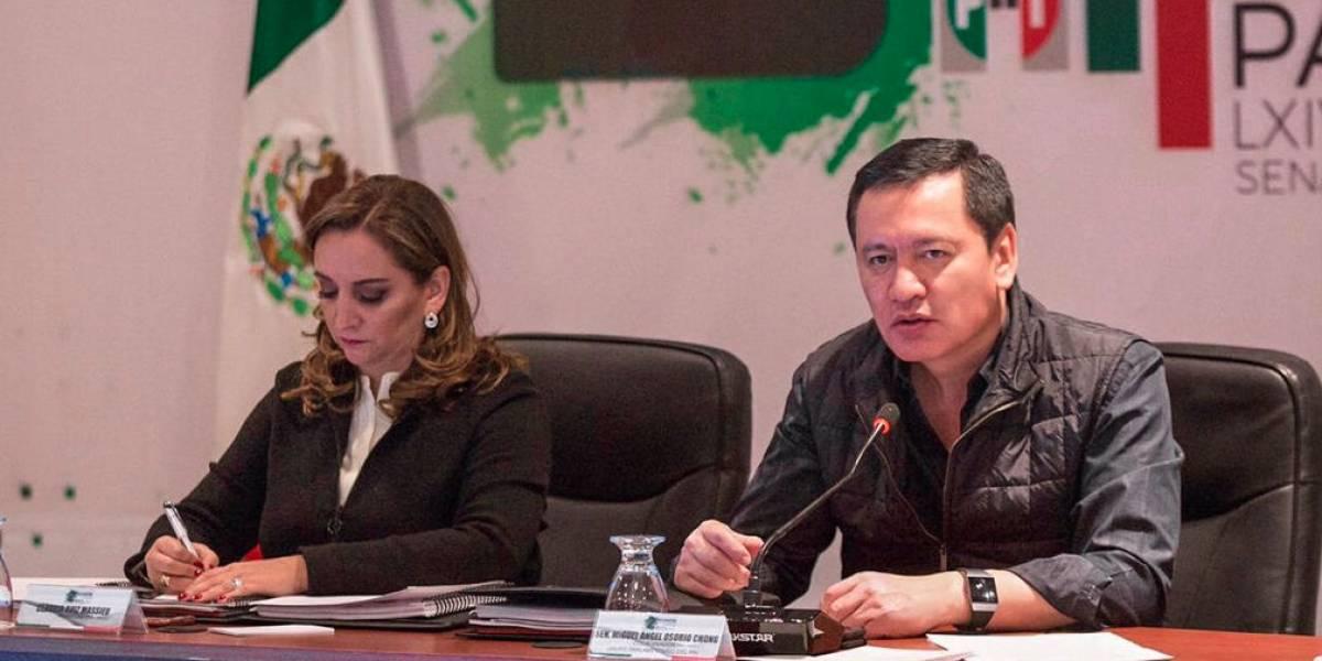 Aprobación de la Guardia Nacional no es negociable, asegura Osorio Chong