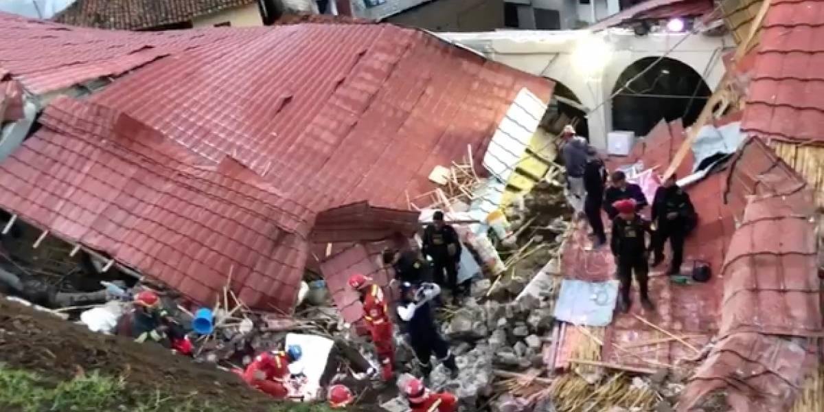 Terrible tragedia en Perú: 16 personas murieron tras el colapso de una pared durante una fiesta de matrimonio